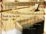 SLAVCHEV, Svetoslav/DJ LIGHT - Back To The Lab (Back Cover)
