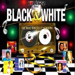 I Love Disco Black & White 80's