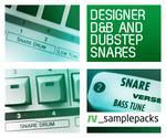 Designer D&B And Dubstep Snares (Sample Pack WAV)