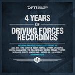 VARIOUS - 4 Years Of Driving Forces Recordings (Front Cover)