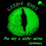 THE BOY & SISTER ALMA - Lizard Eyes (Front Cover)