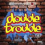 DELIMENTARY/LEBROSK - Double Trouble EP (Front Cover)