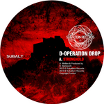D OPERATION DROP/GEODE - Stronghold EP (Front Cover)