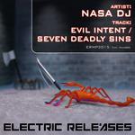 NASA DJ - Evil Intent (Front Cover)