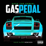 SAGE THE GEMINI feat IAMSU! - Gas Pedal (Dave Aude Remixes) (Front Cover)