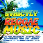 VARIOUS - Strictly Reggae Music Vol 1 (Front Cover)