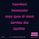 BEATBOX MACHINERY - Purple Spawn Of Polaris (Back Cover)