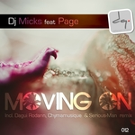 DJ MICKS feat PAGE - Moving On (Front Cover)