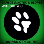 RIKOTEK, Carlos/DLOPEZ - Without You (remixes) (Front Cover)