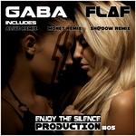 GABA - Flaf (remixes) (Front Cover)