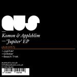 KOMON/APPLEBLIM - Jupiter EP (Front Cover)