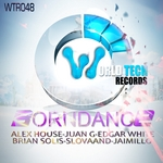 HOUSE, Alex/BRIAN SOLIS/EDGAR WHITE/JAIMILLO/JUAN GALLEGO - BornDance (Front Cover)