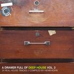 KOHN, Henri/VARIOUS - A Drawer Full Of Deep House Vol 2: 24 Real House Tracks (Front Cover)
