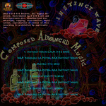 INSTINCT WAVE - Composed Advanced Music EP (Back Cover)