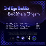 3RD EYE BUDDHA - Buddha's Dream EP (Back Cover)