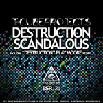 T CUBEPROJECTS - Destruction (Front Cover)