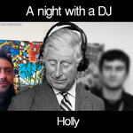 HOLLY - A Night With A DJ (Front Cover)