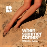 MARSO & GALA - When Summer Comes (Front Cover)