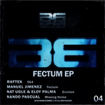 RAFTEK/MANUEL JIMENEZ/NAT UGLE/ELOY PALMA/NANDO PASCUAL - Fectum EP (Front Cover)