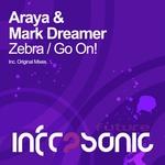 ARAYA/MARK DREAMER - Zebra EP (Front Cover)