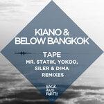 KIANO/BELOW BANGKOK - Tape (remixes) (Front Cover)
