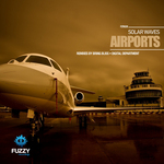SOLAR WAVES - Airports (Front Cover)