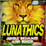 LUNATHICS - Jungle Drummer (Front Cover)