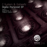 C SYSTEM/GABEEN - Digital Paranoid EP (Front Cover)