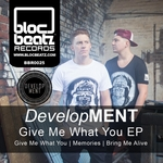 DEVELOPMENT - Give Me What You EP (Front Cover)