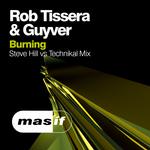 TISSERA, Rob/GUYVER - Burning (remix) (Front Cover)