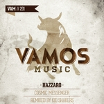 HAZZARO - Cosmic Messenger (Front Cover)