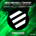 DIEGO MIRANDA & TOM ENZY - Green Valley Summer Times (Front Cover)