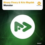 BINARY FINARY/KRIS MAYDAK - Monster (Front Cover)