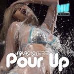 SQUACHEK feat LADYGIRL/CHUCK - Pour Up (Front Cover)