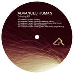 ADVANCED HUMAN - Grinding EP (Front Cover)