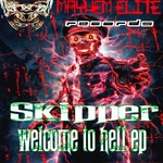 SKIPPER HC - Welcome To Hell EP (Front Cover)