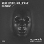 BROOKE, Steve/DECKSTAR - Feeling Down EP (Front Cover)
