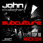 John O'Callaghan: Subculture Top 10 March 2014