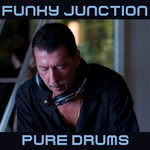 VARIOUS - Funky Junction Pure Drums (Front Cover)