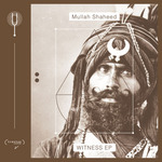 MULLAH SHAHEED - Witness EP (Front Cover)