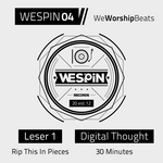 LESER 1/DIGITAL THOUGHT - We Worship Beats (Front Cover)