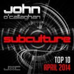 Subculture Top 10 April 2014