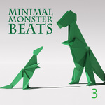 VARIOUS - Minimal Monster Beats Vol 3 (Front Cover)
