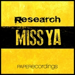 RESEARCH - Miss Ya (Front Cover)