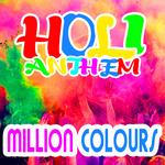 MILLION COLOURS - Holi Anthem (Front Cover)