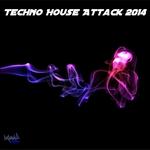 VARIOUS - Techno House Attack 2014 (Front Cover)