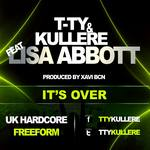 T TY/KULLERE feat LISA ABBOTT - It's Over (Front Cover)