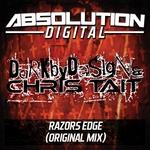 DARK BY DESIGN/CHRIS TAIT - Razors Edge (Front Cover)