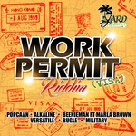 VARIOUS - Work Permit Riddim (Front Cover)