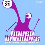 VARIOUS - House Invaders Pure House Music Vol 21 (Front Cover)
